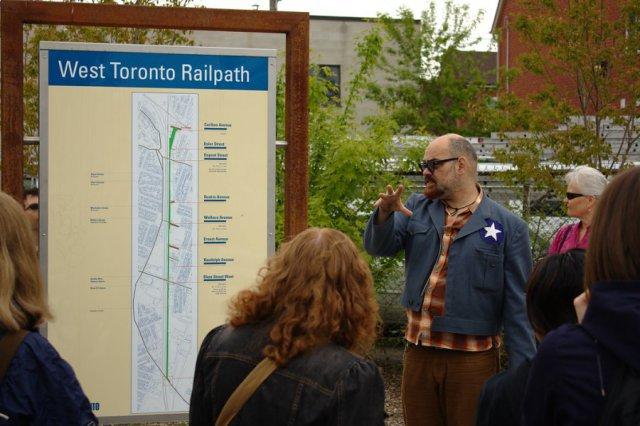 Railpath Jane's Walk - Cariboo Ave.