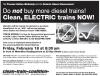 Flyer: Clean Train Rally @ Metrolinx, Feb 2011